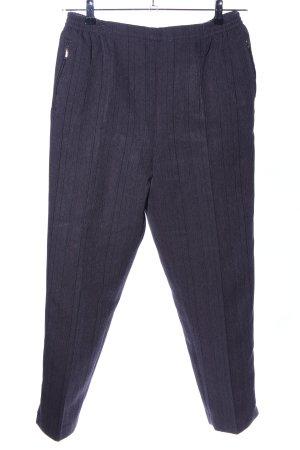 N. F New Fashion Anzughose blau-schwarz meliert Business-Look