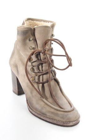 N n.d.c. made by hand Ankle Boots grüngrau Casual-Look