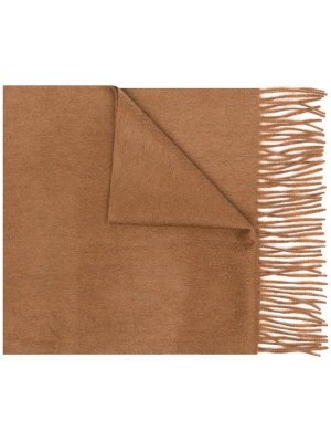 N.PEAL Cashmere Scarf camel cashmere