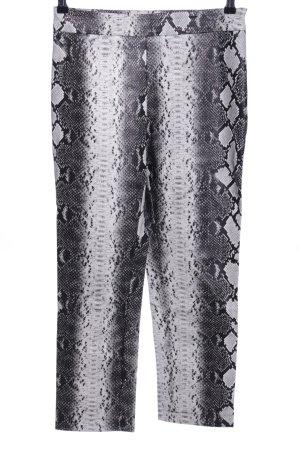 NA-KD Pantalón tobillero estampado repetido sobre toda la superficie elegante
