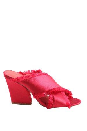 NA-KD Absatz Pantoletten pink Casual-Look