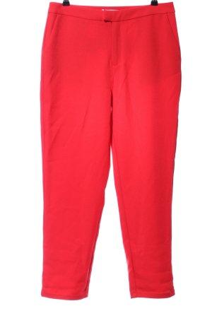 NA-KD Pantalone da abito rosso stile professionale