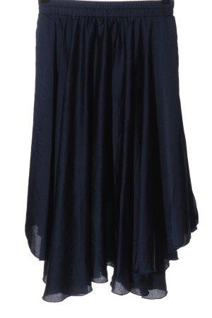 NA-KD Falda asimétrica azul look casual