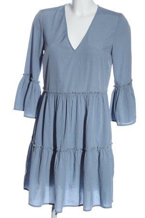 NA-KD Vestido babydoll azul elegante