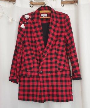 Nakd Jersey Blazer black-red
