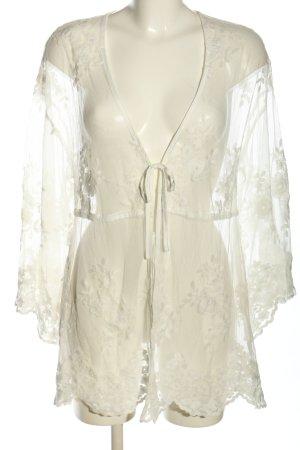 NA-KD Kimono white elegant