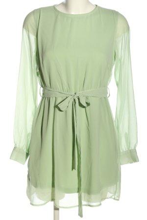 NA-KD Blusenkleid grün Casual-Look