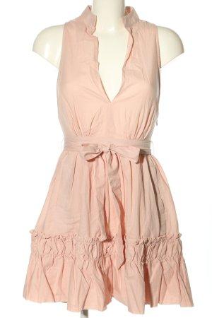 NA-KD Blusenkleid pink Casual-Look