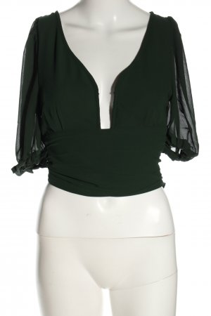 NA-KD Camisa de mujer verde look casual