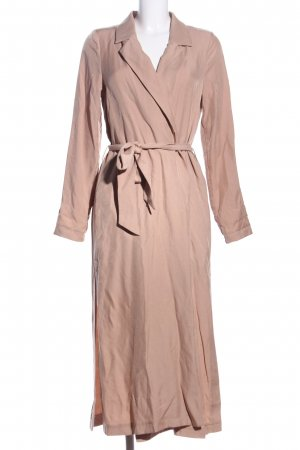 NA-KD bodenlanger Mantel nude Casual-Look
