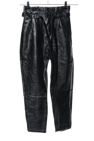 NA-KD Bundfaltenhose schwarz extravaganter Stil