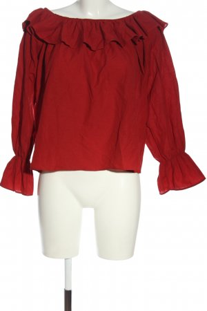 NA-KD Carmen-Bluse rot Casual-Look