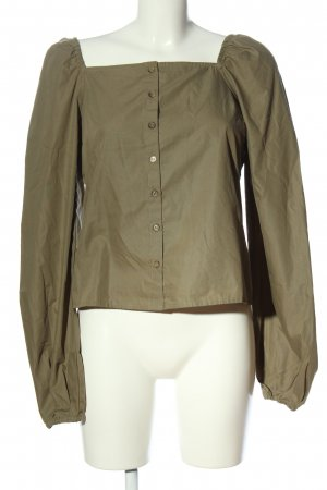 NA-KD Carmen-Bluse bronzefarben Casual-Look