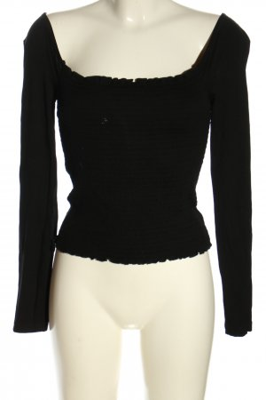 NA-KD Koszula typu carmen czarny W stylu casual