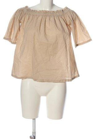 NA-KD Carmenshirt creme Casual-Look