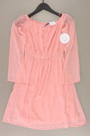NA-KD Chiffon Dress dusky pink-pink-light pink-pink polyester