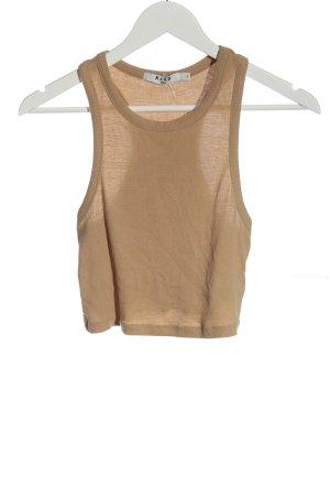 NA-KD Cropped Shirt braun Casual-Look