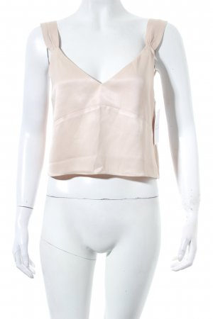 """NA-KD Cropped Top """"Back Strap Knot Top"""" hellbeige"""