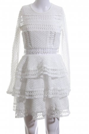 NA-KD Vestido cut out blanco elegante