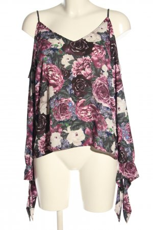 NA-KD Cut out top volledige print casual uitstraling