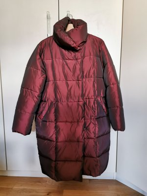 NA-KD Down Coat bordeaux-brown red