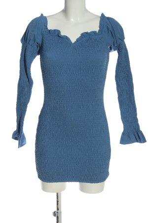 NA-KD Etuikleid blau Casual-Look