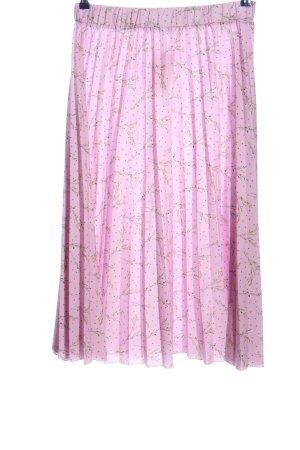 NA-KD Plisowana spódnica Na całej powierzchni W stylu casual