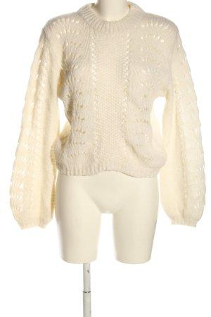 NA-KD Jersey de punto grueso blanco puro look casual