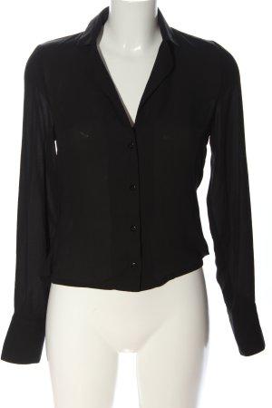 NA-KD Hemd-Bluse schwarz Casual-Look