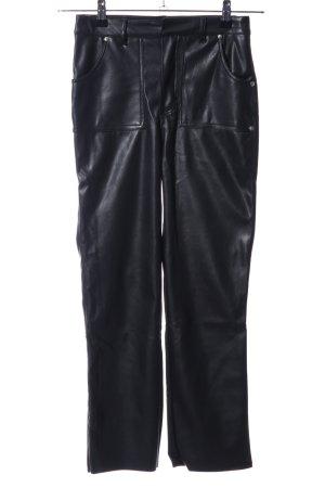 NA-KD High-Waist Hose schwarz Casual-Look