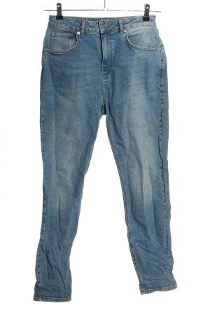 NA-KD High Waist Jeans blau Casual-Look
