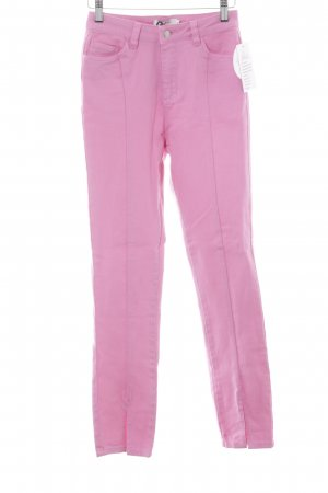 NA-KD Hoge taille jeans roze casual uitstraling