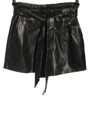 NA-KD High-Waist-Shorts schwarz Casual-Look