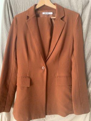 NA-KD Trouser Suit cognac-coloured