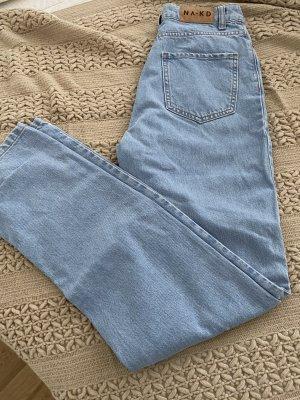 Nakd Jeans larghi azzurro