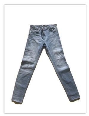NAKED Spodnie z pięcioma kieszeniami stalowy niebieski