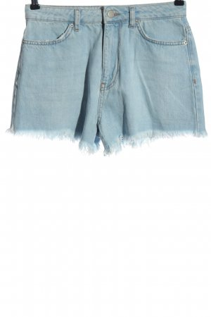 NA-KD Denim Shorts blue casual look