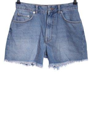 NA-KD Jeansshorts blau Casual-Look