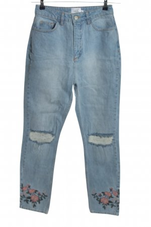 NA-KD Carrot Jeans blue casual look