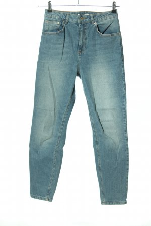 NA-KD Wortel jeans blauw casual uitstraling