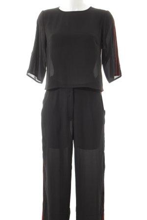 NA-KD Kostüm schwarz-rot Street-Fashion-Look
