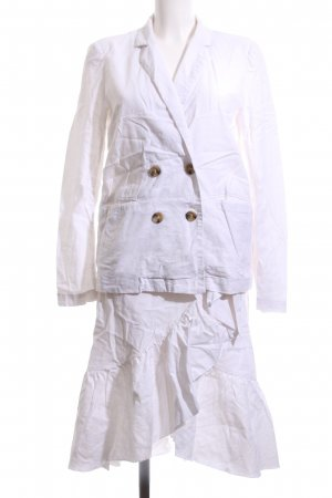 NA-KD Kostüm wollweiß Vintage-Look