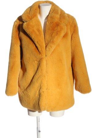 NA-KD Giacca in eco pelliccia arancione chiaro stile casual