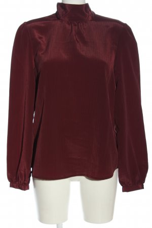 NA-KD Langarm-Bluse rot Casual-Look