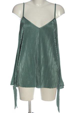 NA-KD Schlupf-Bluse grün Elegant