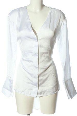 NA-KD Camicia a maniche lunghe bianco stile professionale