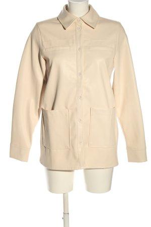 NA-KD Camicia a maniche lunghe crema stile casual