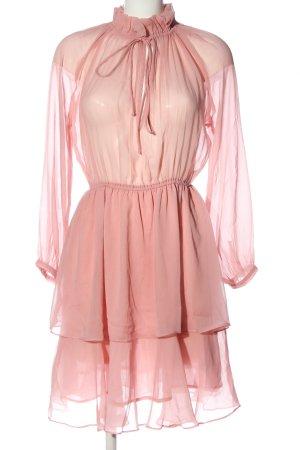 NA-KD Langarmkleid pink Casual-Look