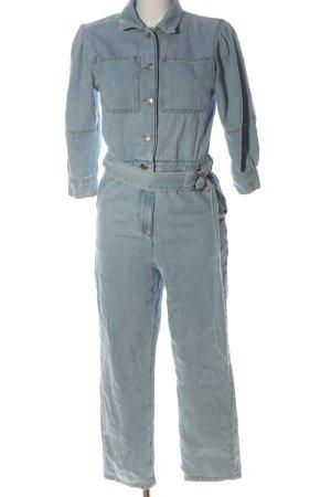 NA-KD Langer Jumpsuit blau Casual-Look