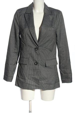 NA-KD Blazer long gris clair motif à carreaux style décontracté